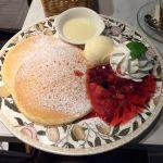 2 PIECE CAFE British 渋谷東急プラザ店 苺ミルクのパンケーキ