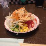 ベリーグッドマン 平塚店 Aセット ライス+サラダバー 561円