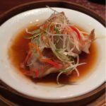 蒸し魚の中国醤油がけ ◇ 南翔饅頭店 西武渋谷店