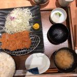 とんかつ 和幸 マークシティ渋谷店   ひれかつ御飯(1280円)  講演が上手くいったのでご褒美にこれにした!
