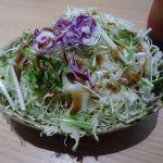 新宿さぼてん 新宿京王店 サラダ 昔通り食べ放題でした