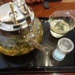 珈琲茶館 集 イトシアプラザ有楽町店   レモンバーベナブレンド(880円)   香りで神経が休まります