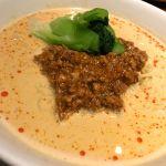 美華園 新橋店 #ramen やっぱり定期的に食べたくなる担々麺(*´∀`人*)クリーミーなスープが本当に好きです♪♪