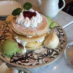 2 PIECE CAFE British 渋谷東急プラザ店スペシャルフルーツパンケーキ😊
