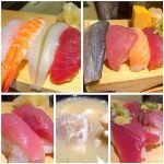 沼津 魚がし鮨 静岡アスティ店     立ち喰い処で板長のにぎり寿司✨  わさび効きまくり^_^