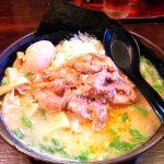 ラーメン つるおか家 フォレオ仙台 宮の杜店味噌ホルモン麺 900円味噌ラーメンにホルモンは良い組み合わせだと思う。まだまだ仕事、がっつりエネルギー補充。