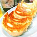 みんみん。餃子。パリモチ!旨〜い!450円
