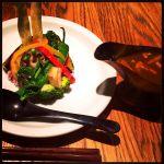 やさい家めい 柏 野菜#カレー ご飯少なめ!野菜が大きいので食べにくかったけど、それを上回る大きさ!