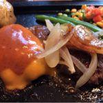 テリヤキ&チェダーチーズハンバーグ150g  @ゴールドラッシュ 南大沢店