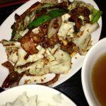 珉珉 光が丘店 回鍋肉定食を頂きました。やや甘めですが、美味しかったです。