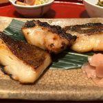 鈴波 東京ミッドタウン店 三種類のお魚の食べ比べ定食( ◠‿◠ )