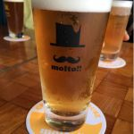 カミカゼと箕面のコラボ、HARAKIRI IPA! 程よくホッピーで朝イチの一杯に最高です♪ @クラフトビアーハウスモルト