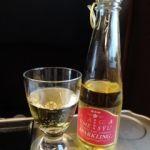 北陸新幹線・グランクラス   発泡梅酒   甘くて女性向けで飲みやすい