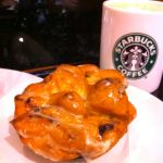 スターバックス・コーヒー 静岡丸井店  で仕事あとのカフェミスト&アップルシナモンフリッター(260円)。最近スタバは公休前という自己ルールが守られていない。行きすぎだなー
