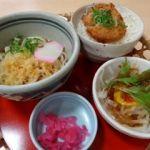 和食処 菜の香 イオンタウン石和    ランチセット(820円)    お新香は安っぽいが味は普通です