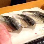 紀文寿司。新子はコハダの子供。