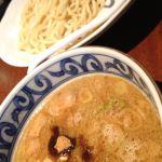 東京とんこつ 萬燈行 アレアレア立川店の濃厚魚介つけ麺なう