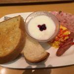 神戸屋フォーニル レザンジュ たまプラーザ店   キッチンのモーニングセット(648円)   品数もボリュームも充分!