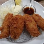 ガンボ & オイスターバー 新宿ルミネエスト店   大粒カキフライランチ(1200円)   時々無性に食べたくなります