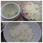 ガンボ & オイスターバー 新宿ルミネエスト店   スープ・サラダ・御飯   スープもオイスターです