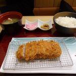 新宿さぼてん 新宿パークタワー店 90g特撰ヒレ御膳(1628円) たまにはお肉も食べたくなる