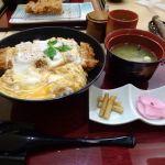 新宿さぼてん 新宿パークタワー店 ヒレかつ丼(1728円) 10000歩以上歩いたのでこれくらいは許容範囲