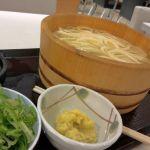丸亀製麺 イオンモールKYOTO店で、早めの昼ごはん!やっぱり釜揚げうどん!!( ´ ▽ ` )ノ
