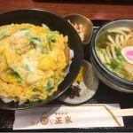 東京そば 正家 さんちか店(*´ڡ`●)カツ丼定食✩
