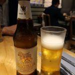 タイのシンハー、フィリピンのサンミゲル等、暑い国のビールは、スッキリ飲み易いタイプが多いですね。。。爽やかなハーブによく合います♪マンゴツリーカフェ ルミネ横浜店