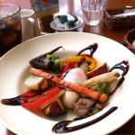 アフタヌーンティー・ティールーム  川越丸広グリルチキンとお野菜のランチバルサミコが美味しかった