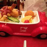 洋食レストラン 西櫻亭 立川店 お子様ランチがちょっと懐かしい。昔はこんなんが多かったと記憶。