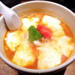 札幌ラーメン酒場 けらあん雪のトマトラーメン 850円トマトラーメンはクセになる。