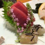 本鮪中トロと平目の昆布〆٩( ᐛ )و  #板前寿司 銀座コリドー店