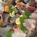 桶盛り(10種)、デカし!刺身が新鮮で美味しく、大満足です。