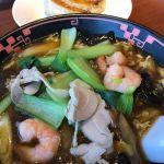休日で東武百貨店へ買い物、そこでランチ@銀座 天龍 池袋東武店 黒酢煮込み麺