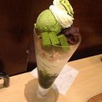 nana's green tea抹茶生チョコレートパフェ