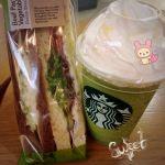 スターバックス・コーヒー ギャラリエアピタ知立店抹茶クリームフラペチーノ♡