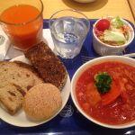 神戸屋キッチン 名古屋ラシック店鶏肉とレンズ豆のシチュー