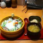 魚松 福岡パルコ店に来ました。昼食とって、今から出勤です。