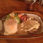 チキンローストクレーマー / JAZZ喫茶のお昼ごはん♪ #ランチパスポート ◇ ノイズ @ 町田