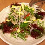しらすとトマトのヘルシー豆腐サラダ。もぐもぐ。 (@ 快飛)