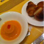 バケット イオン大日店  焼きたてパン、食べ放題。焼きたては、美味しい。伊勢海老の…は、美味しいかった(^-^)