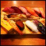 沼津 魚がし鮨 静岡パルシェ テイクアウト店 テイクアウトちゃうけどなここ。前に行ったことあったみたい。