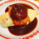 カニクリームコロッケのハヤシソースオムライス@ポムの樹食堂 ららぽーと新三郷店