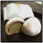 月のうさぎ ¥200 / 小田原の銘菓。大きな栗が食べ応えあり( ^ω^ ) ◇ 夢屋 菜の花 小田原ラスカ店