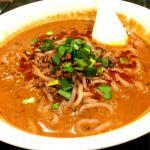 四川坦々麺。濃厚で美味い!@百香亭 守谷店