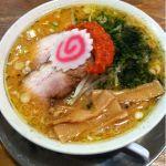 ちゃーしゅうや 武蔵  アピタ静岡店なう からし味噌らーめんと餃子を注文 辛子は少しずつ溶かしながら食べないと辛すぎに…ってでも器の外に出しておかないと後半はスープの中に塊が沈んでしまって…あぁァ