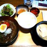 韓式料理 いふうで韓国ランチ 豆乳と蛤のスンドゥブ