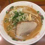 旭川日帰り出張の帰り、札幌駅で旭川ラーメンを食べるカオス。よし乃 札幌店 #ramen