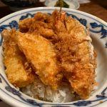 娘と一緒に昼食、久しぶりの天ぷらを@新宿つな八 ルミネ荻窪店